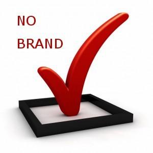 не использовать бренд