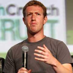 Известный предприниматель  Цукерберг
