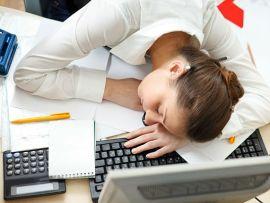 почему хочется спать на службе