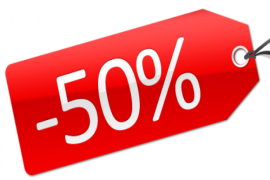 экономия скидка 50%