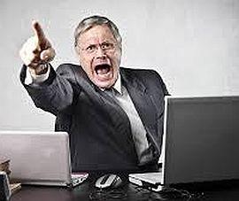 нельзя терпеть крик коллег