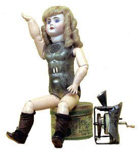 Томас Эдисон говорящая кукла