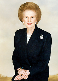 Женщина-босс Маргарет Тэтчер