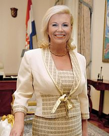 Женщина-босс президент хорватии