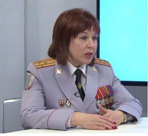 Женщина-босс даже в милиции