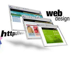 веб дизайн современного сайта