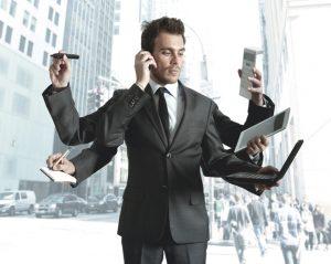 трудоголизм - шесть рук