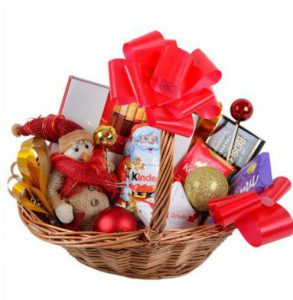 Корпоративные новогодние подарки набор конфет