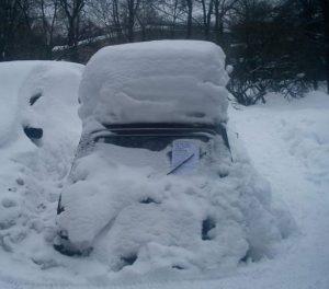Зимний бизнес машина