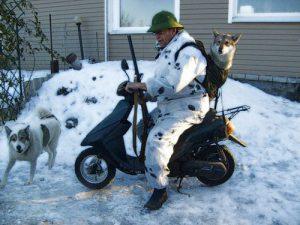 Зимний бизнес на охоте
