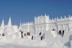 бизнес зимой крепость