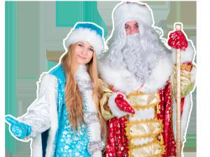 новогодний бизнес дед мороз и снегурочка