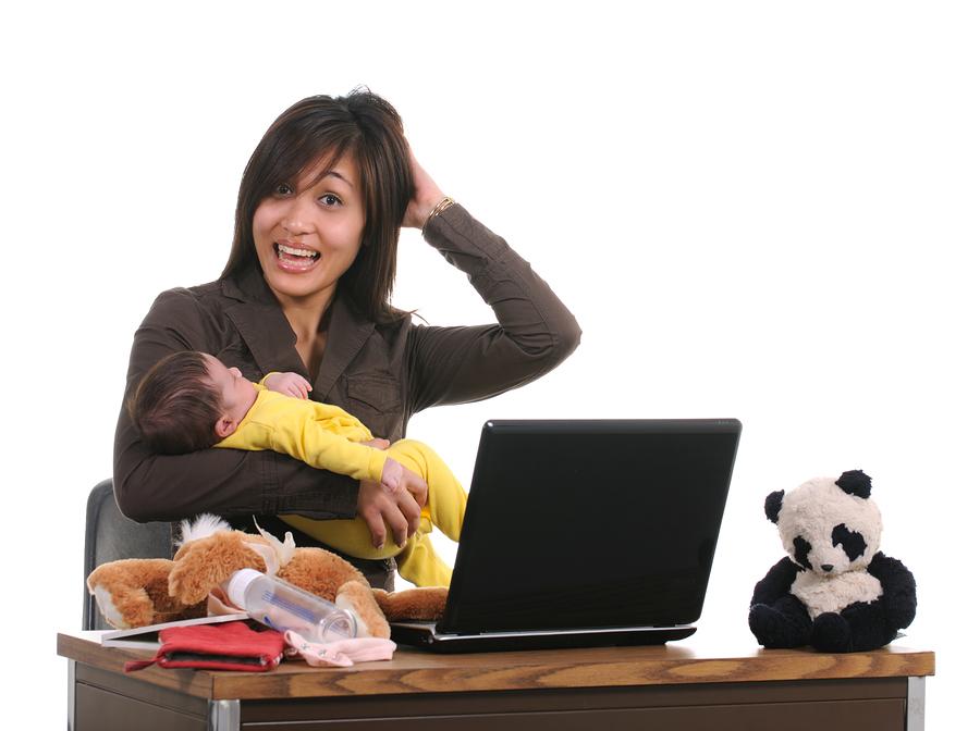 Домохозяйка заработала в интернете