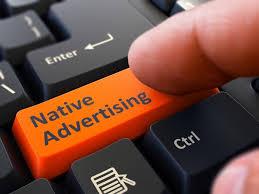 Нативная реклама с клавой